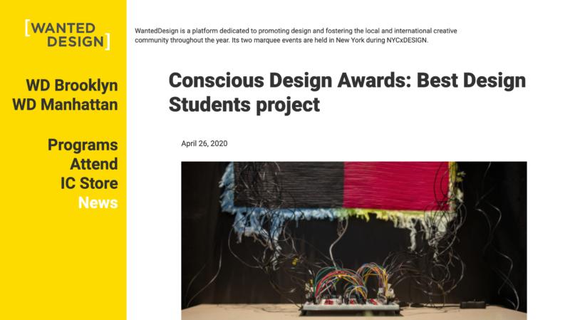 Image de la présentation du Conscious award 2010